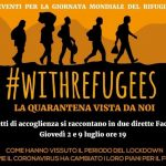 #withrefugees                                        La quarantena vista dai migranti